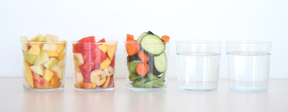 Agua en os alimentos