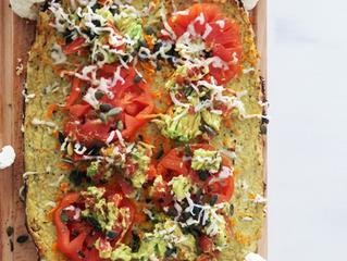 Pizza / pastel de coliflor