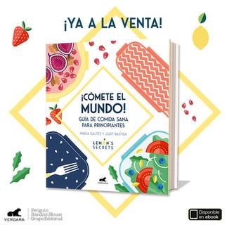 El primer libro lemonero ¡CÓMETE EL MUNDO!