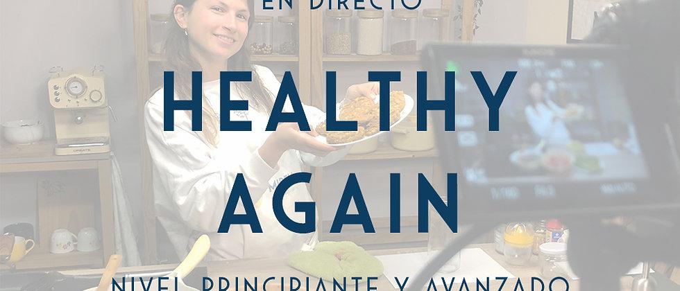 HEALTHY AGAIN - cursos online en directo