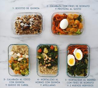 Cocina 1 día para toda la semana ESPECIAL OTOÑO