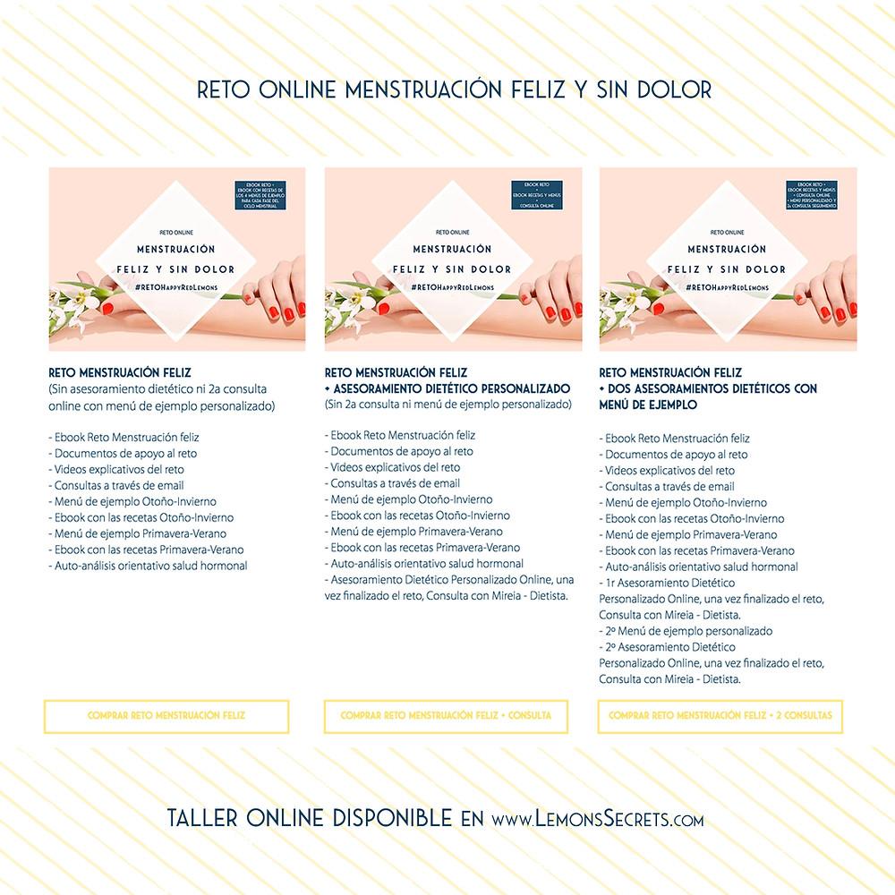 Reto Online Menstruación Feliz