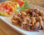 Calamares con cebolla