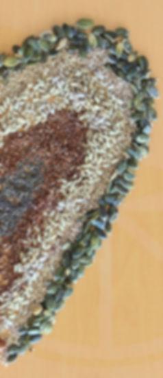 Semillas de girasol, calabaza, chía y lino