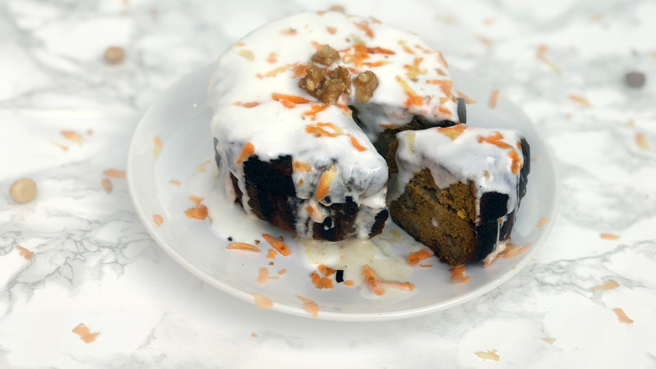 Pastel de zanahoria nutritivo | Carrot Cake saludable