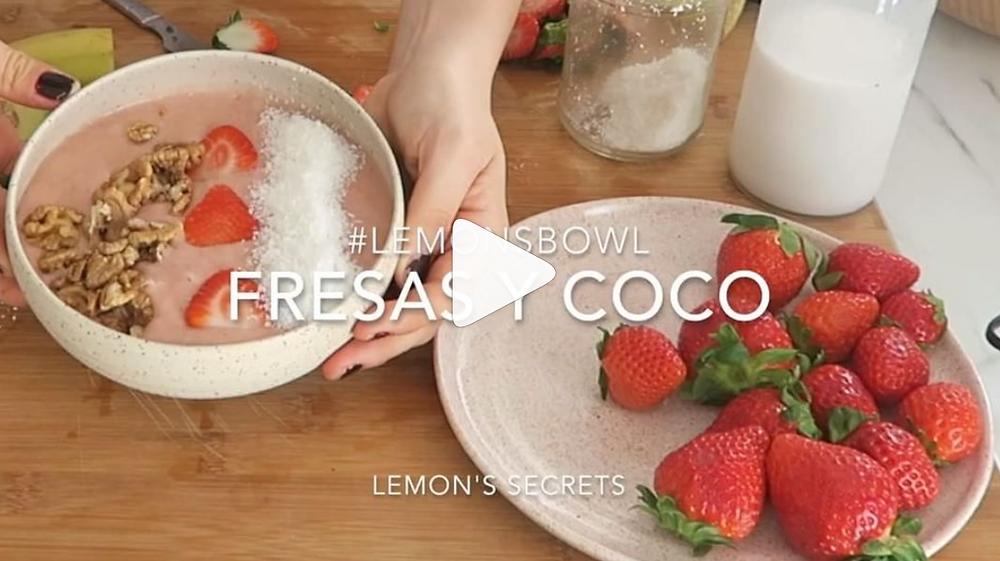 Video Receta LemonsBOWL