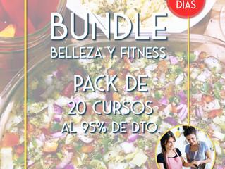"""Pack de Cursos """"Bundle de Belleza y Fitness"""" al 95% de descuento"""