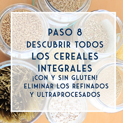 POST - Cereales integrales