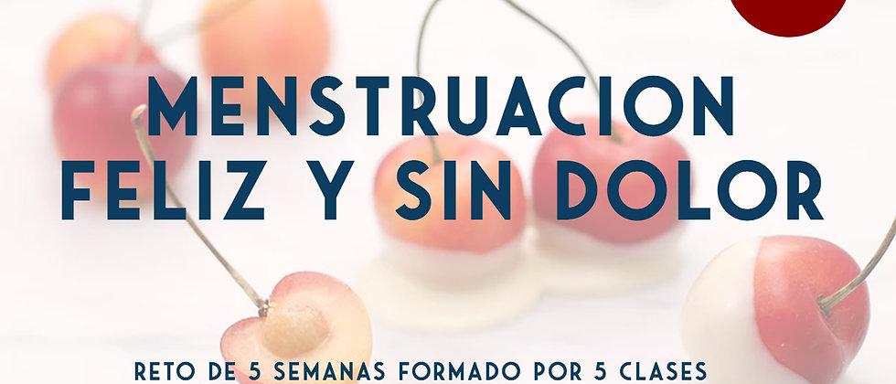 Reto Menstruación feliz y sin dolor + Asesoramiento dietético online