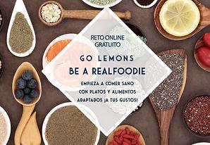 Reto Go Lemons Realfoodie