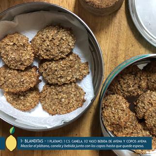 5 maneras de hacer galletas saludables con copos de avena