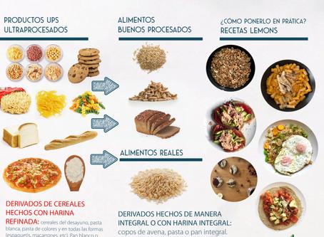 De harinas refinadas a cereales integrales | Pequeños cambios