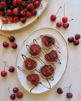 Tartaletas de cerezas