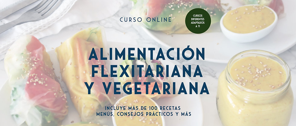 Curso Online Alimentación vegetariana