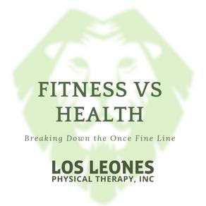 Health Vs Fitness