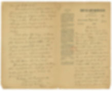 Letter from Alfred Dreyfus to his wife, Lucie, January 31, 1895