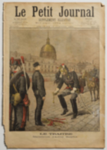 Alfred Dreyfus' Degradation Ceremony, January  13, 1895