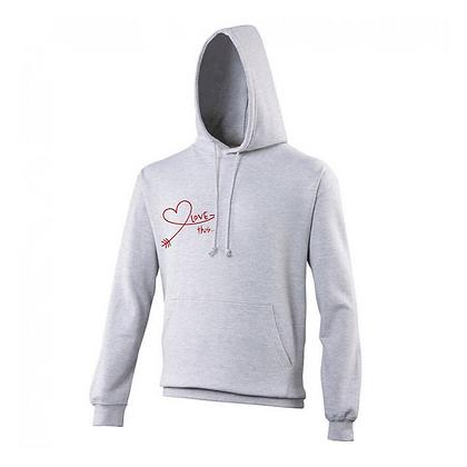 Love Yourself Hoodie - Grey
