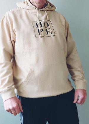 Little box of Hope Hoodie - Sand