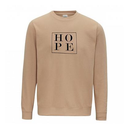 Little box of Hope Sweatshirt - Sand