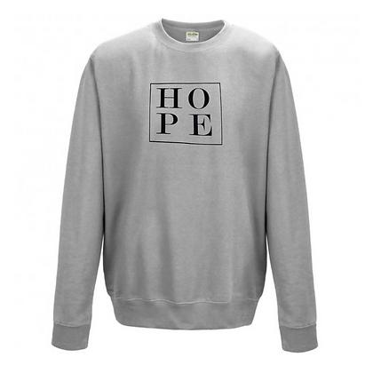 Little box of Hope Sweatshirt - Grey