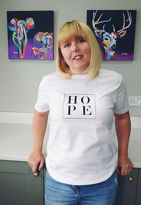 Little box of Hope T-Shirt - White