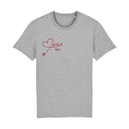 Love Yourself T-shirt - Grey