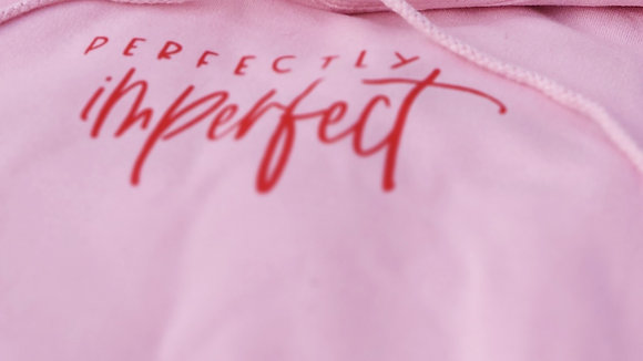Perfectly Imperfect Tee - Pink