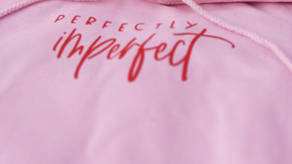 Perfectly Imperfect Sweatshirt - Pink