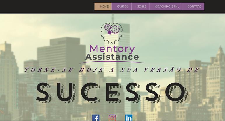 HOME _ Mentory Assistance - Google Chrom