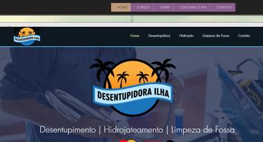 Home _ Desentupidora Ilha - Google Chrom