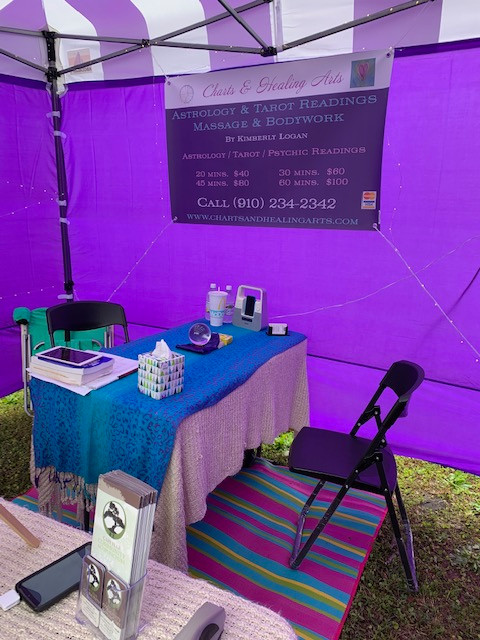 Our Tent at an event