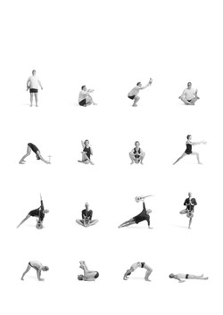 Poster Yoga clean middle