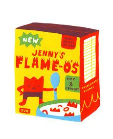 JENNY'S FLAME-O'S