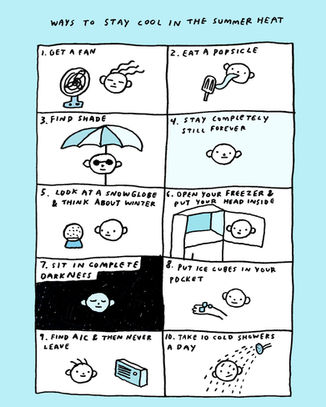 WAYS TO STAY COOL