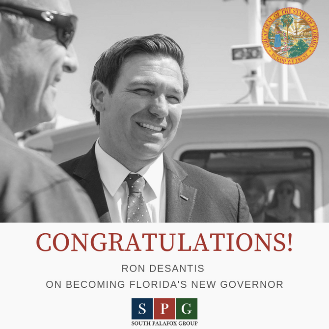 Congratulations Governor Ron DeSantis