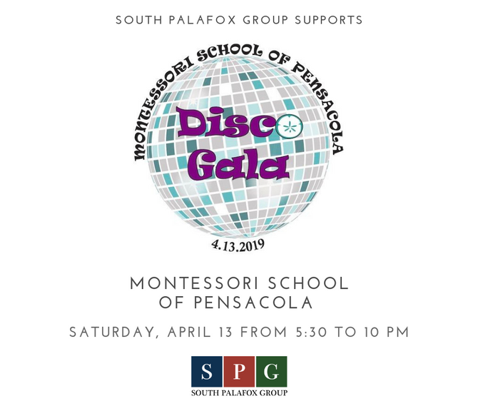 SPG proudly supports Montessori School of Pensacola's Disco Gala