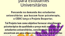 Projeto Despertar - CEDIC