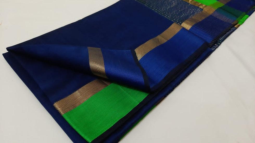 Maheshwari handloom cotton silk saree