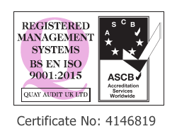 ISO QUAY AUDIT CERTIFICATE