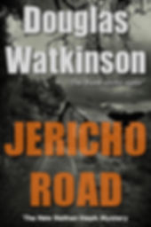 Detective crime fiction author douglas watkinson Jericho Road