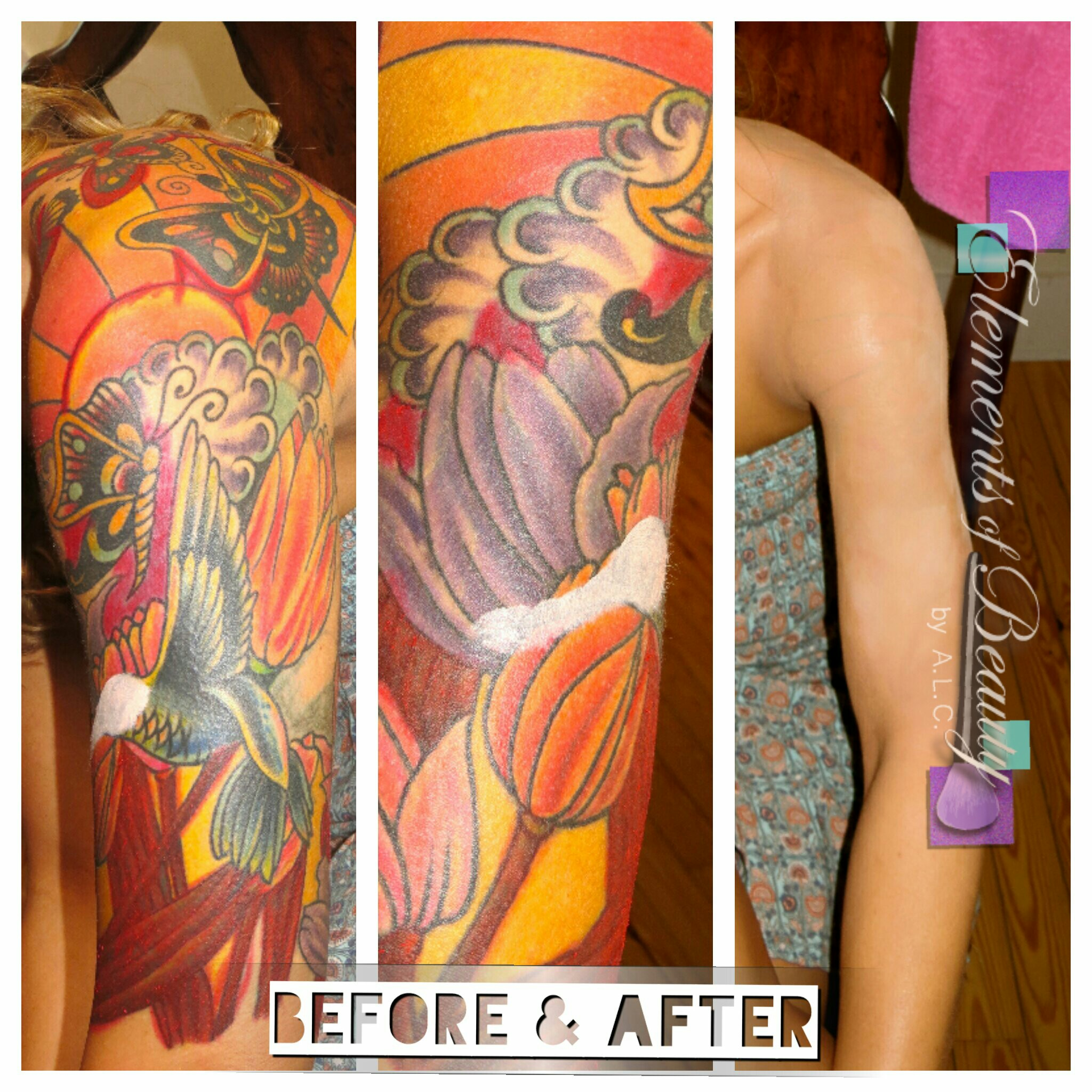 Tattoo Cover-up