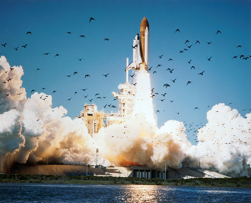 Challenger launch,1986