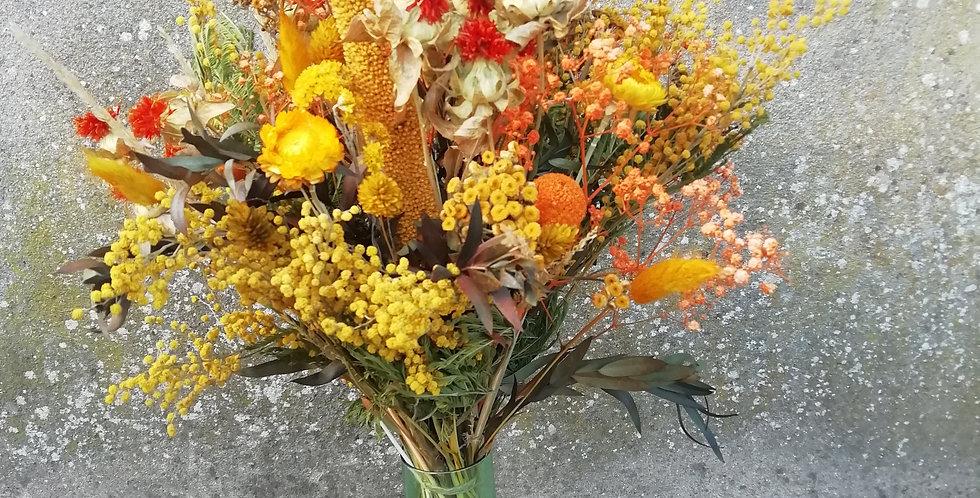 Bouquet grenat hessonite