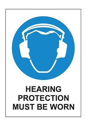 Hearing Protection (PVC)