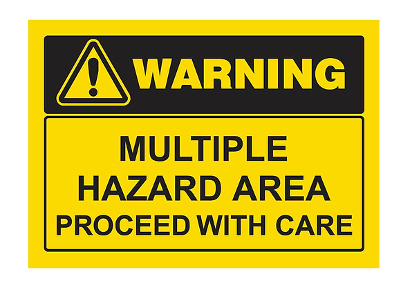 Multiple Hazard Area (PVC)