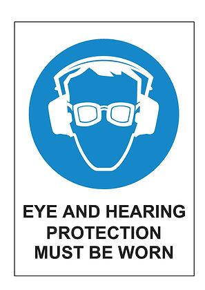 Eye & Hearing Protection (PVC)