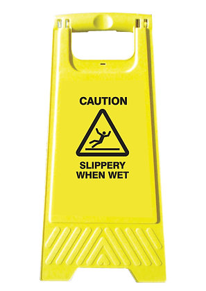 Slippery When Wet (A-Frame)