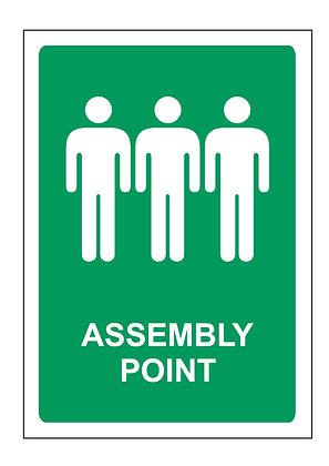 Assembly Point (PVC)