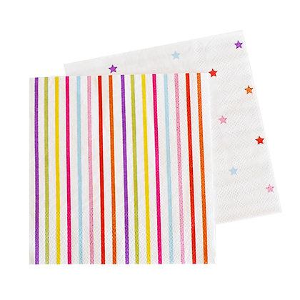 Rainbow servilletas